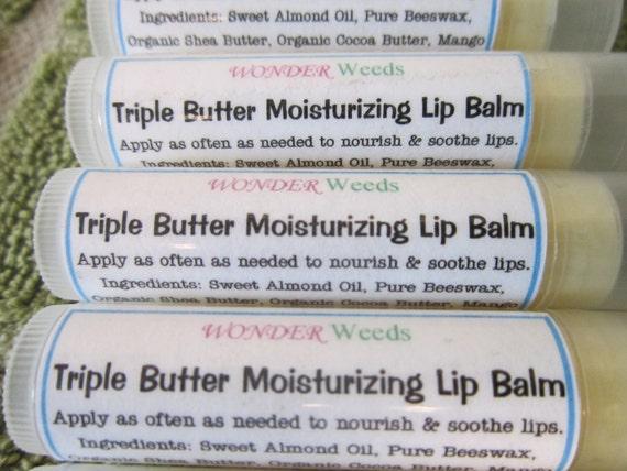 Triple Butter Moisturizing Lip Balm