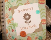 reserved custom grammy's brag book baby picture journal mini scrapbook