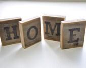 Home wood blocks