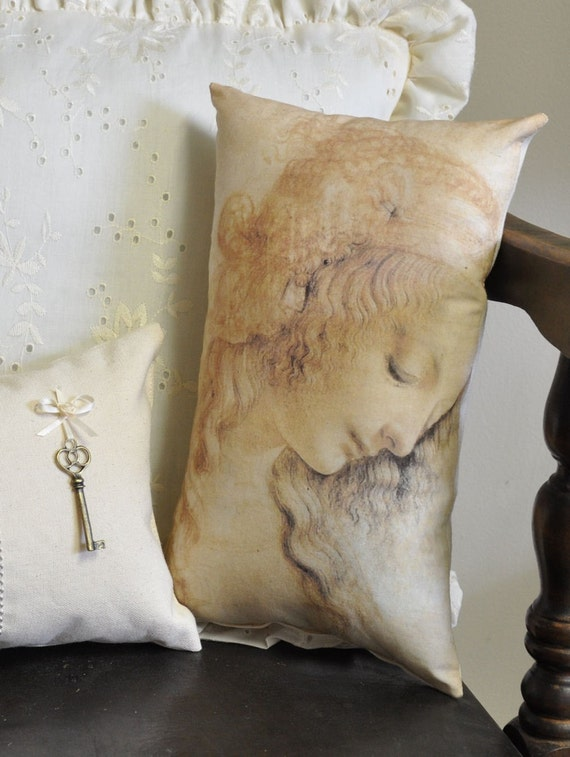 Leonardo DaVinci pillow