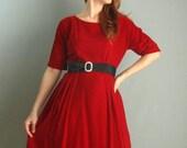 Madison Avenue Holiday Dress 1960s