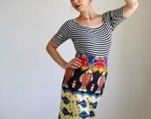 Sale- Resort Wrap Skirt. Bright. Multi Colored. Spring Fashion. Summer. Vacation. Beach. Mardi Gras. Tribal