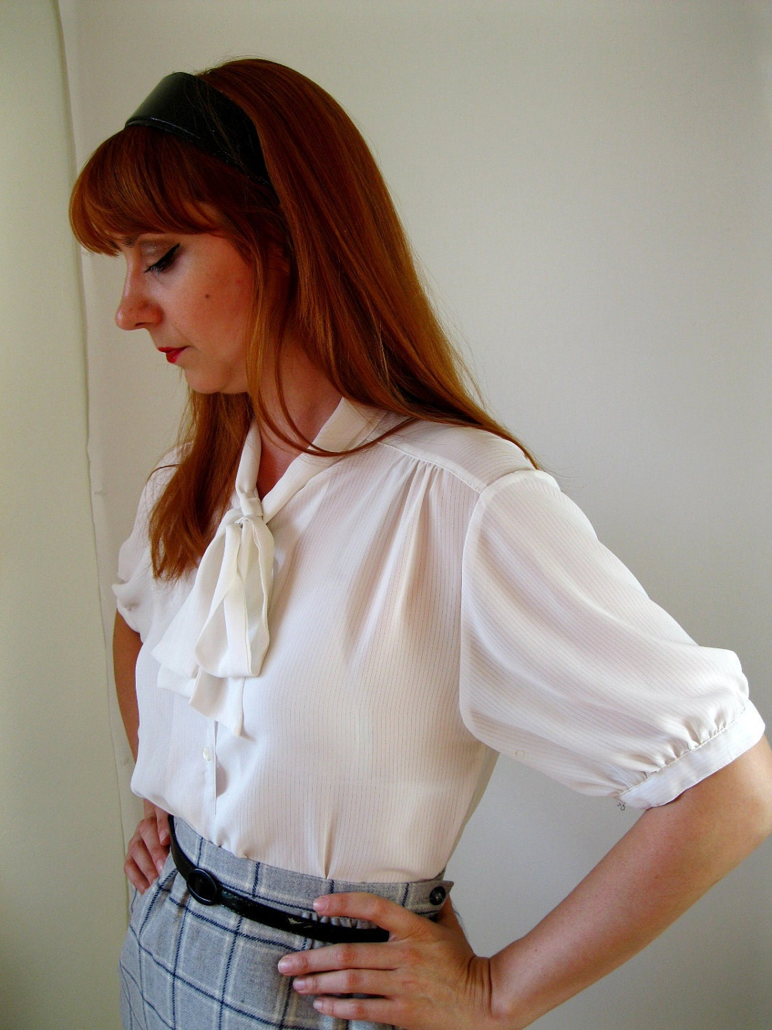 Secretary Blouse 15