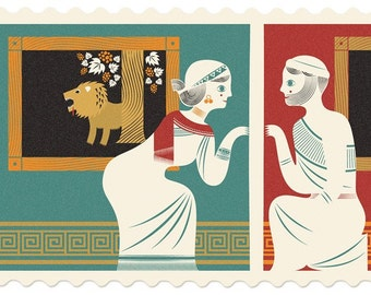 Pyramus And Thisbe / Greek / Babylonian