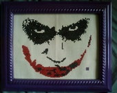 Why So Serious (Joker cross stitch)