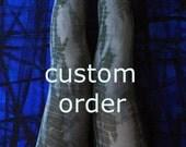 100 denier opaque tights - custom order