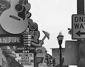 "Nashville, Tennessee- Country Music,Rustic- 4"" x 6"" Original Signed Fine Art Photograph"