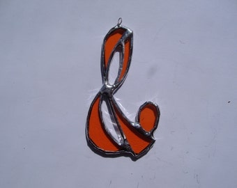 musical note stained glass suncatcher