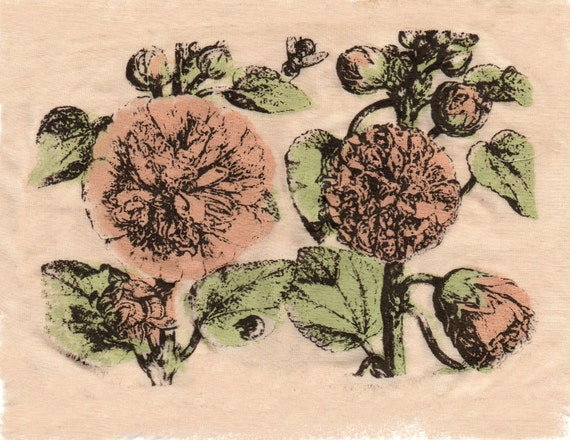 Vintage Wild Rose Patch