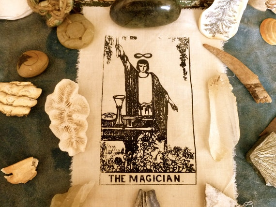 The Magician Tarot Card Patch Print