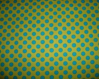 Caribe Ta Dots Fabric  by Michael Miller  - 1 Yard