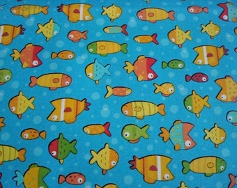 Gone Fishing by Benartex - Fabric - 1 yard