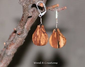 Earrings - Dangle - Tear Drop Shaped