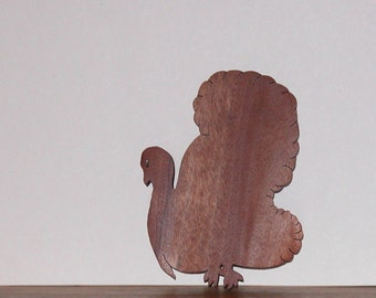 Turkey Shaped Trivet or Thanksgiving Home Decor
