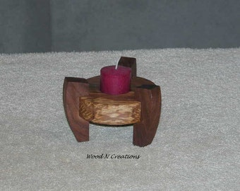 Candle Holder with Contemporary Style and Round Shape - Home Decor - Tealight Candle Holder
