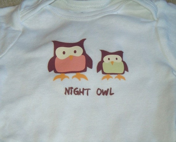 Boutique Baby Onsie - Night Owl