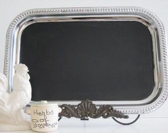 Chalkboard WITH EASEL The ORIGINAL Rectangular Blackboard Chalkboard Bulletin Inspiration Summer Wedding
