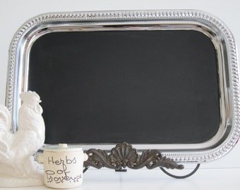 XL Wedding French Country Wedding Chalkboard, Blackboard and Magneticboard all in one, Featured in Brides Magazine