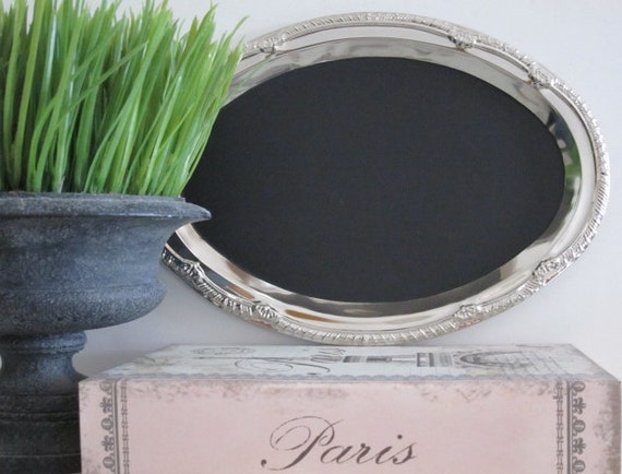 French Old World Message Magneticboard Chalkboard French Wedding Decor