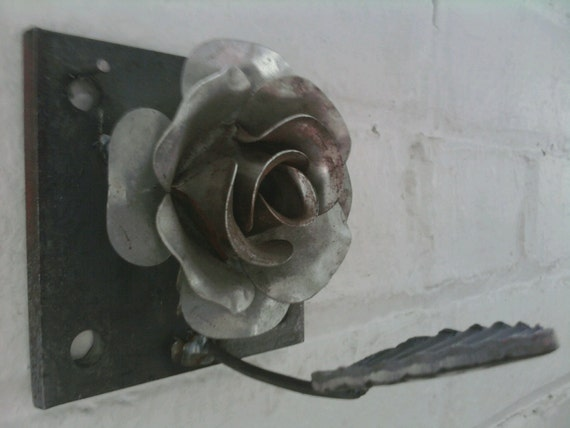 Steel Flower Wall Hook
