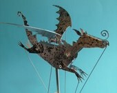 Painted Aluminium Dragon Automata