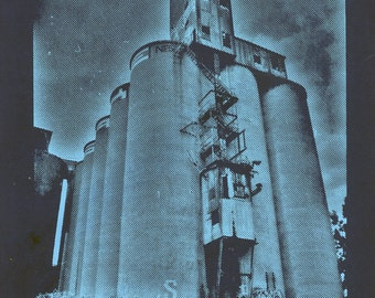 The Malt Plant: Hand Pulled Photo Realistic Screen Print
