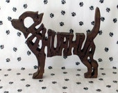Chihuahua Handmade Fretwork Jigsaw Puzzle Wood Dog by dogWoodbyDave on Etsy