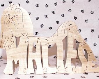 Maltese Handmade Wood Fretwork Jigsaw Puzzle