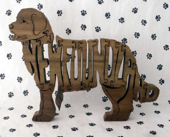 Newfoundland Handmade Wooden Jigsaw Puzzle