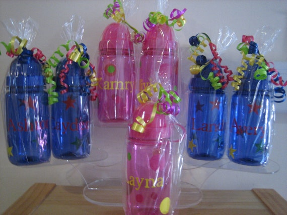 Personalized Polka Dots Kids Water Bottles - Custom Listing for Jen . DD Sept. 15th
