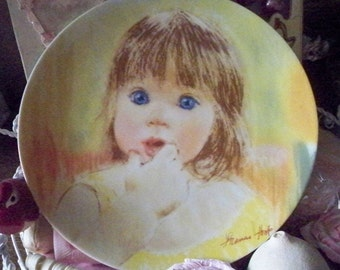 Frances Hook Legacy 'Fascination' - Collectible Plate