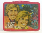 Hardy Boys Metal Lunch Box with Thermos