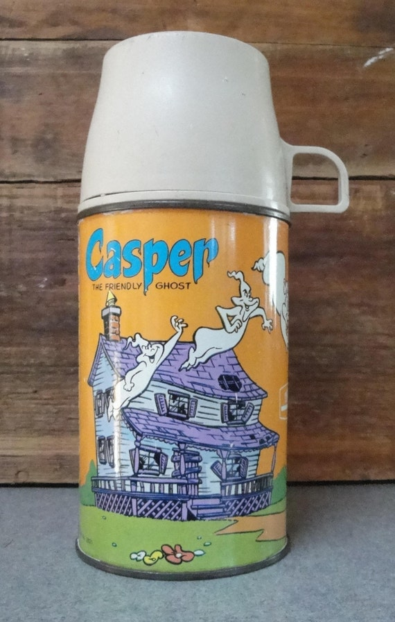 CASPER The FRIENDLY GHOST Lunchbox Thermos, 1966