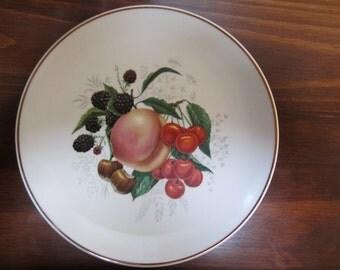 VINTAGE Bavaria Germany Golden Crown E&R Dessert/Salad Plate