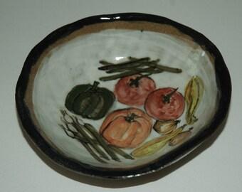 Handmade Veggie Dip Bowl