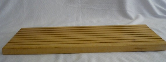 Ruler and Template Rack, Honey Locus, Large
