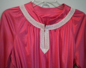 You Can Share the Bottoms Candy Apple Red Vintage VAL MODE Pajama Set NOS
