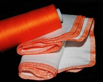 Paper Free Reusable Towels - Set of 6 Orange