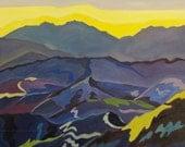 SALE California Mountains Fine Art Landscape Painting