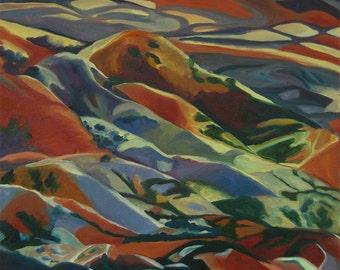 Into the Mystic, Mt. Lemon Arizona Fine Art Painting
