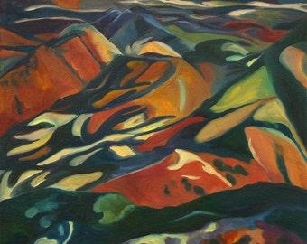 Mountain Landscape Mt Lemmon Tucson Arizona Original Art