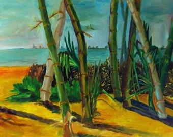 SALE Florida Landscape Fine Art Painting