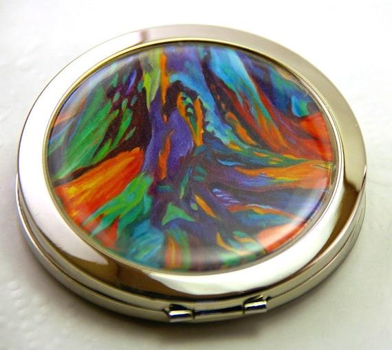 Fine Art Mirror Compact Root Beginnings