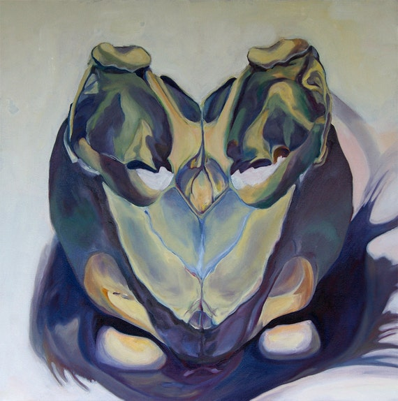 Sea Turtle Fine Art Oil Painting