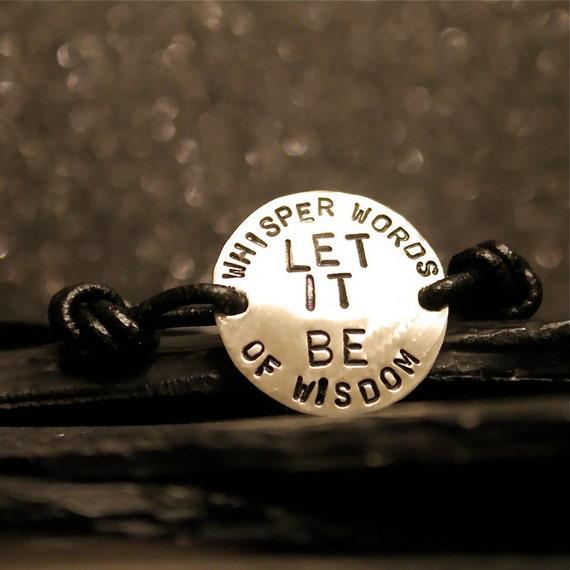 Let It Be - Charms of Faith Bracelet