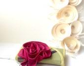 Phone wallet - type 2 - medium - rose