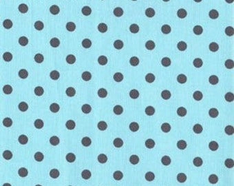 RESERVED Listing for Amanda - Dumb Dot in Sea - 5 3/4 Yards - Michael Miller Fabric