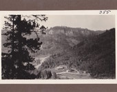 Vintage Black and White Photograph Scenic View 1930s vp029