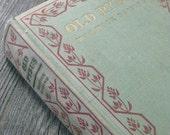 Vintage 1920s Twenties Book Antiquarian Old Pybus MOSS Green ART DECO Warwick Deeping