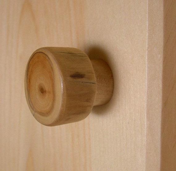 Log Cabin Knob Unique Rustic Wood Cabinet Knob For Farmhouse